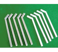 Slot Track Scenics AS 10 Angled Stanchions x10