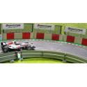 Slot Track Scenics TC-R Couvre Pneus avec blocs rouges x5