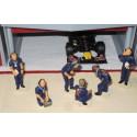 Slot Track Scenics SRAF 08 Technicians