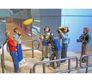 Slot Track Scenics SRA 11 TV Crew