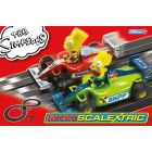 Micro Scalextric G1117 Coffret The Simpsons Grand Prix