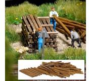 Busch 1129 Genuine wooden building lumber