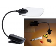 Busch 1298 LED Lamp with Magnifier