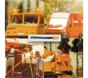 Busch 4292 Ampoules avec fils jaune