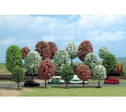 Busch 6484 Blooming trees 70-125mm x16
