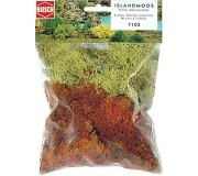 Busch 7103 Iceland moss, yellow brown