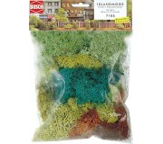 Busch 7105 Iceland moss, 4 assorted colors