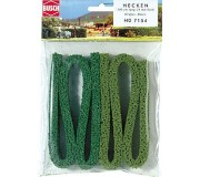 Busch 7154 Structured moss hedges, large