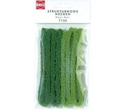 Busch 7155 Structured moss hedges, small