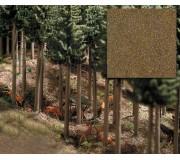 Busch 7528 Mélange de sable, sol en bois d'arbres à feuilles caduques