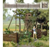 Busch 10241 Wooden garden fence
