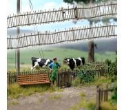 Busch 10242 Ancienne clôture en bois