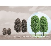 Busch 6165 Arbres à feuilles 145mm