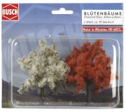 Busch 6853 Arbres à fleurs 95mm