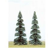 Busch 6106 Fir trees 135mm x2