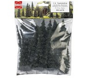 Busch 6470 Fir tree assortments without roots 50-135mm x15