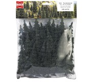 Fir tree assortments with roots 60-135mm x20