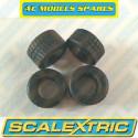 Scalextric W8514 Pneus Intermédiaire F1 x4