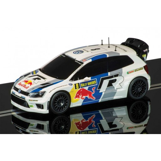 Scalextric C3525 Volkswagen Polo WRC, Rally Sweden 2013