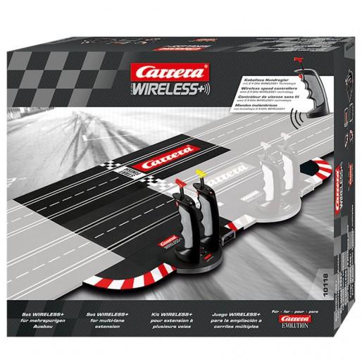 Carrera Evolution 10118 WIRELESS+ Set pour extension à plusieurs voies