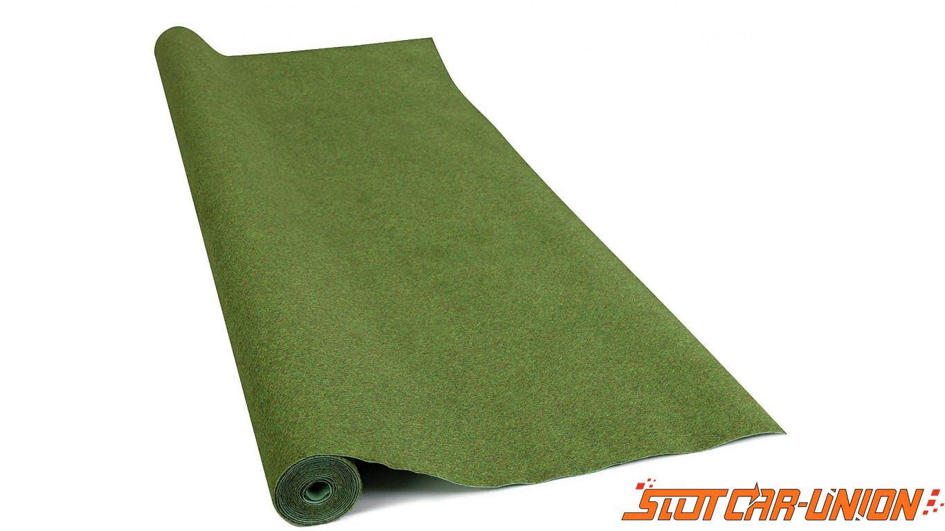 busch 7280 tapis de d cor vert fonc 250x100 slot car union. Black Bedroom Furniture Sets. Home Design Ideas