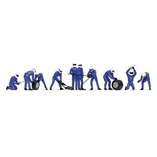 Equipage Changement de Pneus A (Bleu)