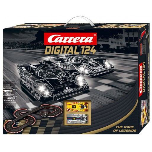 carrera digital 124 23616 race of legends set slot car union. Black Bedroom Furniture Sets. Home Design Ideas