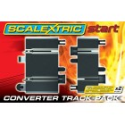 Rail de Conversion Scalextric Start x2