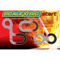 Scalextric Radius 1 Curve 45° x2
