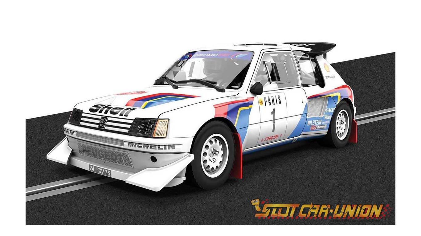 scalextric c3591a classic collection peugeot 205 t16. Black Bedroom Furniture Sets. Home Design Ideas