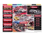 Carrera 71160 Feuille de logos autocollants