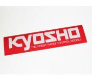 Kyosho 87003 Autocollant Kyosho Logo M (290x72)