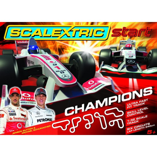 Scalextric Start Coffret Champions