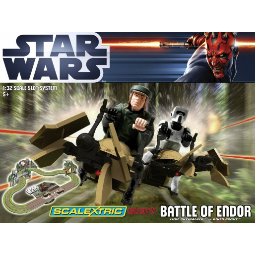 Scalextric Start Star Wars Battle of Endor Set