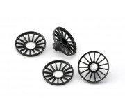 Slot.it PA69 Audi e-tron kit wheel inserts for 4WD System