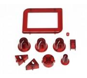 Slot.it SCP03a Boutons Rouges en Plastique