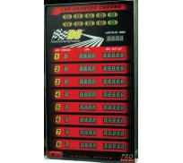 DS Racing DS-400 PRO Super Tower Display for 4 lanes