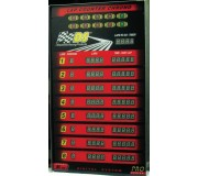 DS Racing DS-400 PRO Super Tower Display for 6 lanes