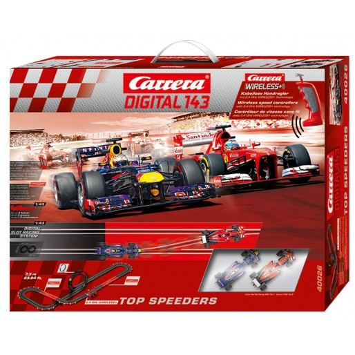 Carrera DIGITAL 143 40026 Top Speeders Set