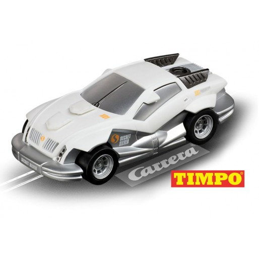 "Carrera GO!!! 61228 CarForce Agent ""Secret Silver"", TIMPO®"