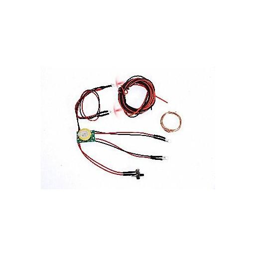 DS Racing Kit d'Eclairage avec Batterie 3V