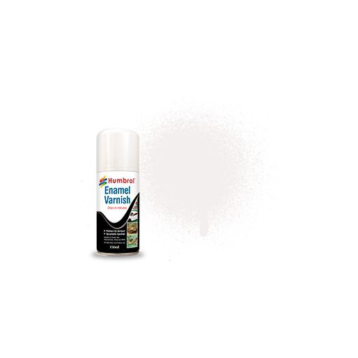 Humbrol AD6997 No. 35 Enamel Varnish Gloss - 150ml Spray Varnish