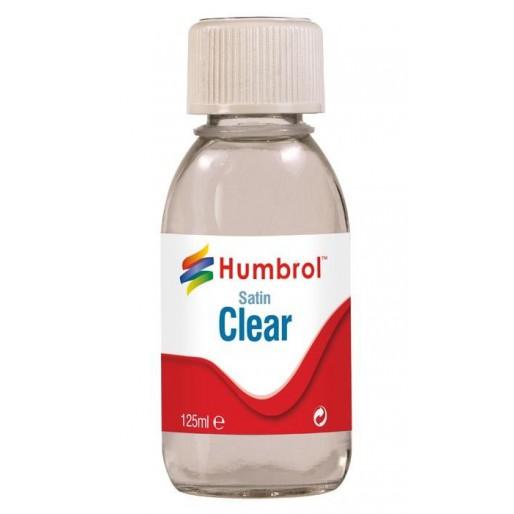 Humbrol AC7435 Vernis Satiné Transparent - 125ml Flacon