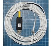 Câble USB de liaison PC vers Scalextric 6 Car Powerbase C7042