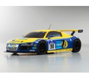 Kyosho 32204BT Mini-Z MR03 Sports Audi R8 LMS Phoenix Racing (W-MM/KT19)