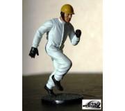 LE MANS miniatures Figurine Pilote courant années 50-65