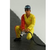 LE MANS miniatures Figure Dominique, airjack man