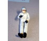 LE MANS miniatures Figurine Pilote des années 60/70 assis dans la voiture