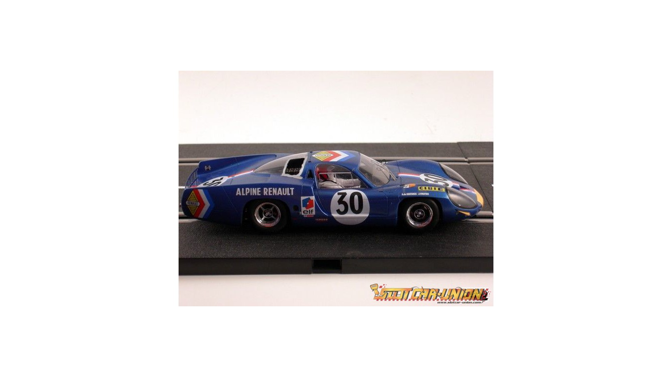 le mans miniatures alpine renault a220 le mans 1968 slot car union. Black Bedroom Furniture Sets. Home Design Ideas