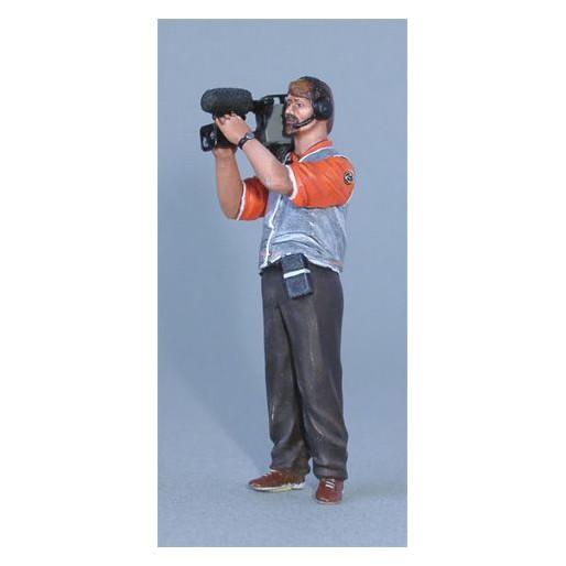LE MANS miniatures Figurine Cameraman
